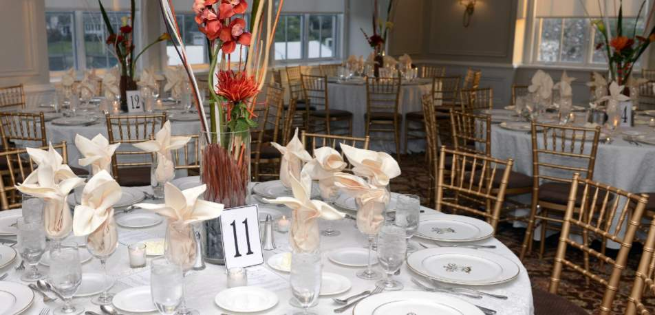 PCC Main Dining Room Table Setting